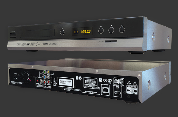 3DOcean Home Theater Blu-ray Player 90491