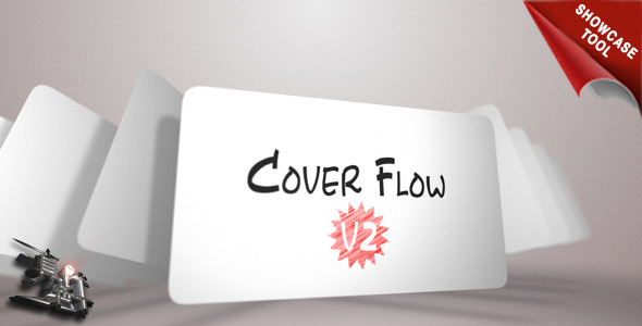 After Effects Project - VideoHive Cover Flow V2 showcase tool 2440306