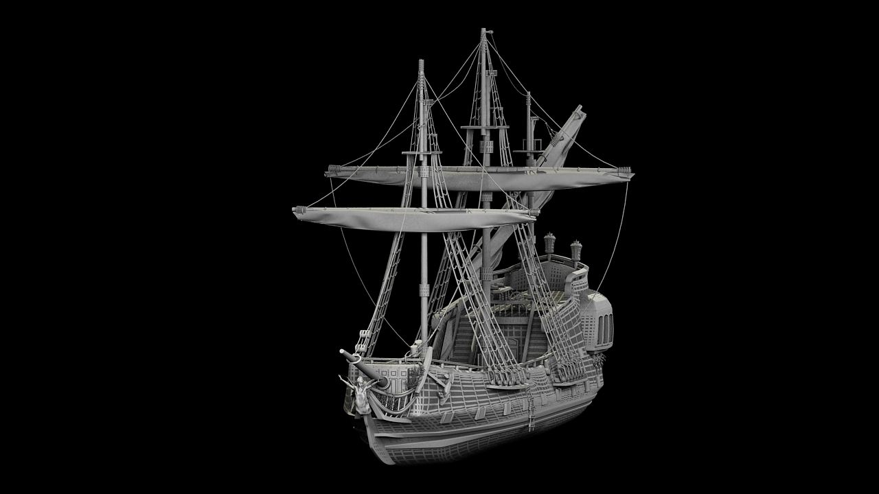 3DOcean Pirate Ship 2471183