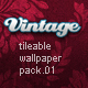 Vintage Tileable Wallpaper Pack 01 - GraphicRiver Item for Sale