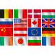 Set 16 different country flags - GraphicRiver Item for Sale