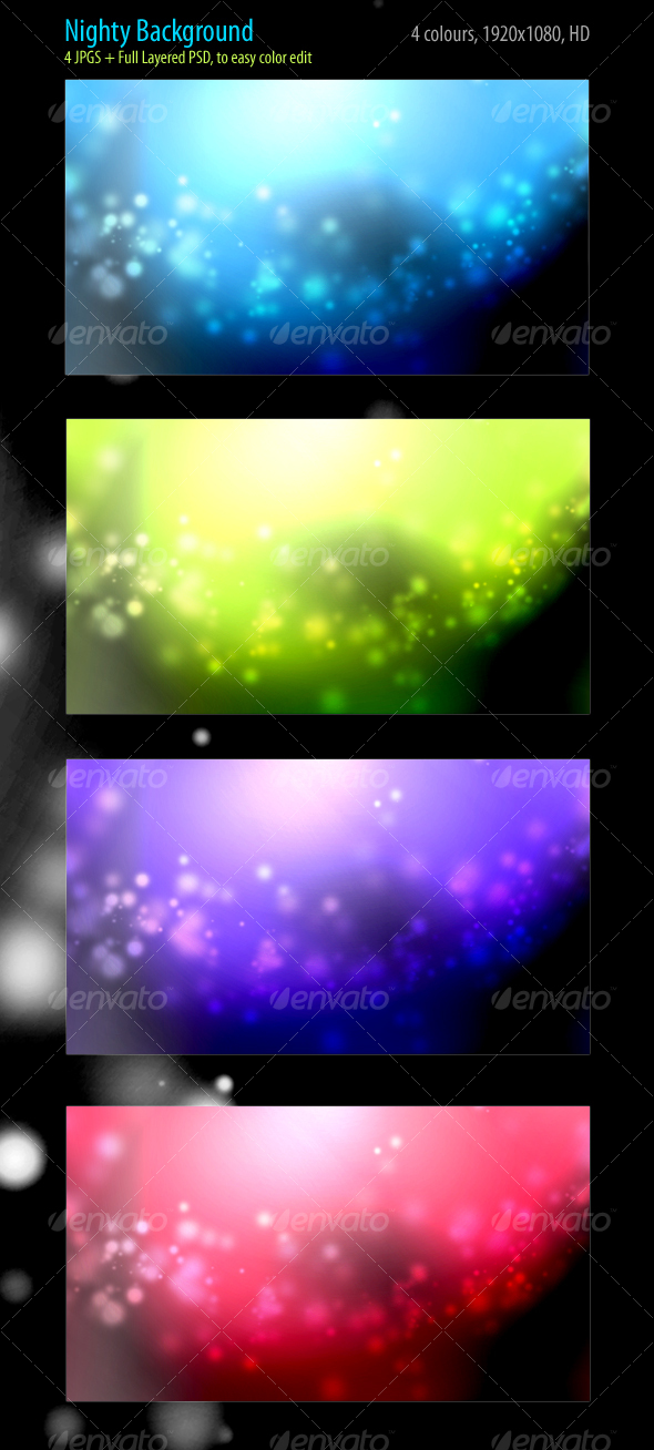 GraphicRiver Nighty Backgrounds 89966