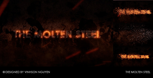 After Effects Project - VideoHive The Molten Steel 2473062