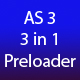 3 in 1 Preloader  AS3 - ActiveDen Item for Sale