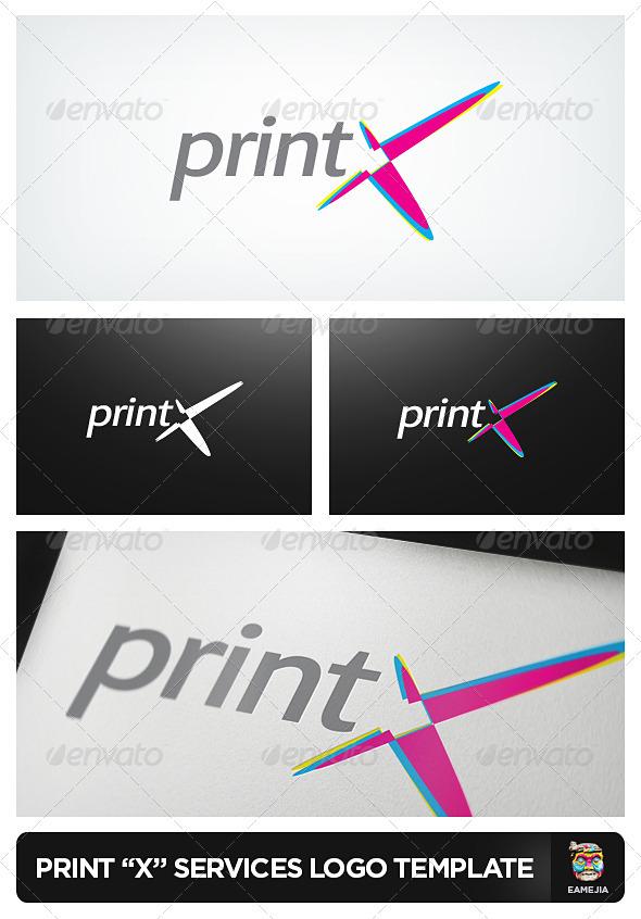 PrintX Printing Services Logo