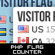 Visitor Flag Counter