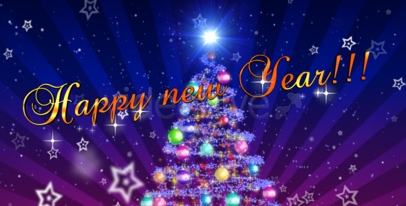 After Effects Project - VideoHive New Year Intro 75115