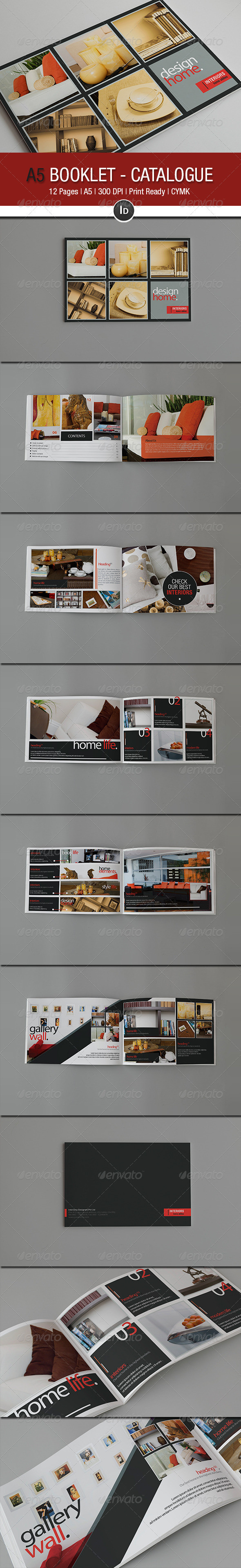 A5 Booklet - Catalogue V 2.0 - Brochures Print Templates