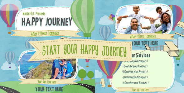 After Effects Project - VideoHive Happy Journey 2475184