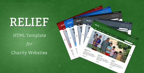 ThemeForest Relief Charity HTML Template 2475627