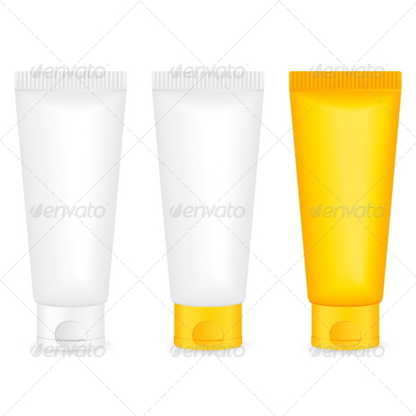 Lotion tube - Objects Vectors