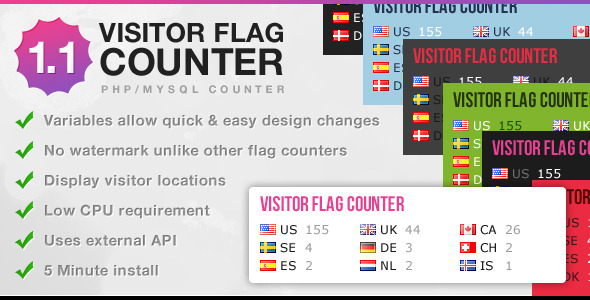 CodeCanyon Visitor Flag Counter 2473219