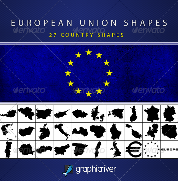 European Union Shapes - Symbols Shapes
