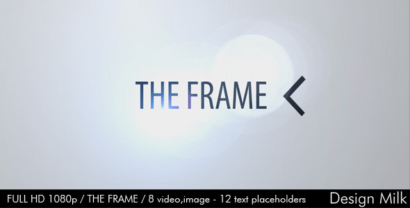 After Effects Project - VideoHive The Frame 2479086