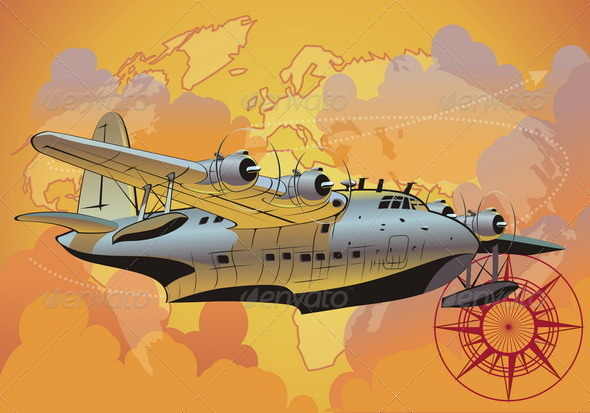 Retro Seaplane