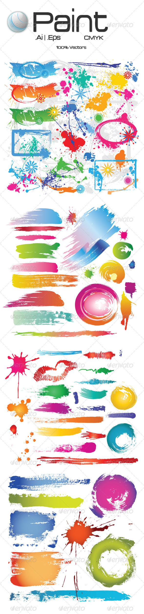 Paint - Decorative Vectors