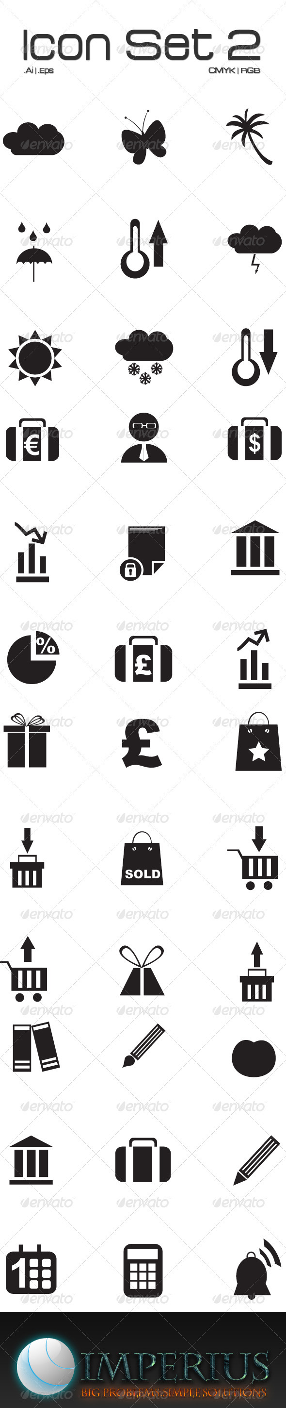 Icon Set 2 - Technology Conceptual