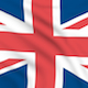 United Kingdom seamlessly looping flag - VideoHive Item for Sale