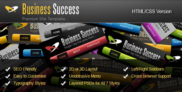 7 in 1 Business Success Site Theme
