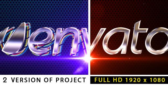 VideoHive Metalic logo 2480037