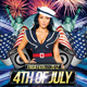 4th of July Party Flyer + Facebook Timeline Cover - GraphicRiver Item for Sale