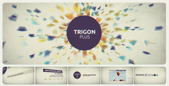 After Effects Project - VideoHive Trigon Plus 2449091