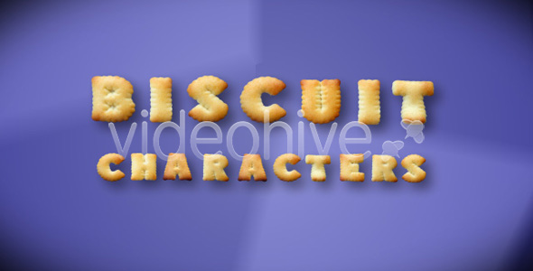 VideoHive Biscuit Typography pack 90846