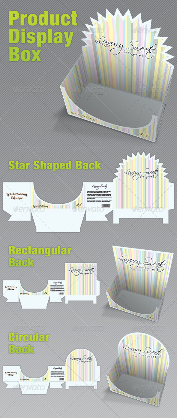 Product Display Box Packaging