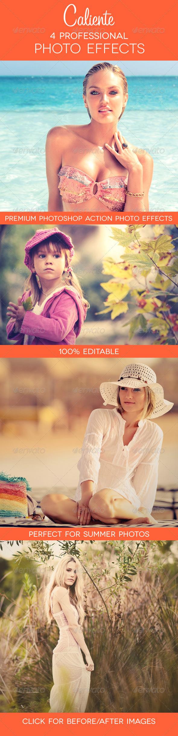 GraphicRiver Caliente 4 Premium Photo Effects 2483734