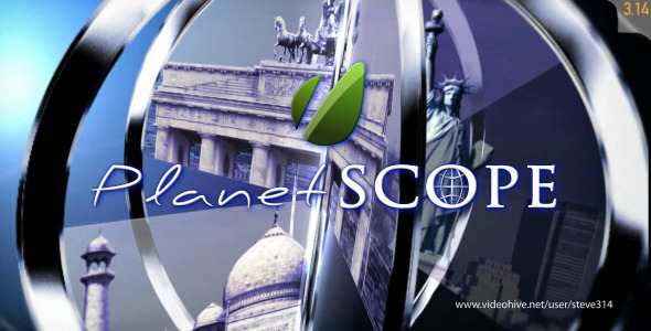 After Effects Project - VideoHive Planet Scope 2484326