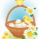 Easter basket - GraphicRiver Item for Sale