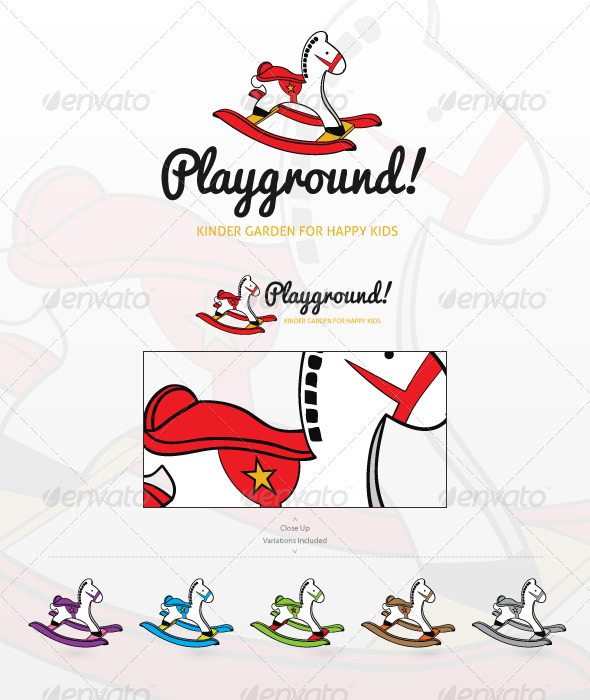 GraphicRiver Playground Logo Template 2475259