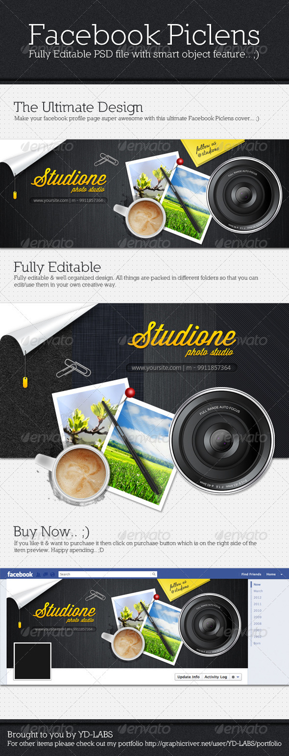 GraphicRiver Facebook Piclens 2477752