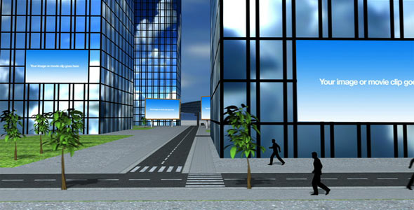 After Effects Project - VideoHive Business City 90985