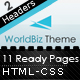 WorldBiz Theme – With Extra Features