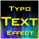 Typo Text Effect - ActiveDen Item for Sale