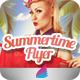 Summertime Flyer - GraphicRiver Item for Sale