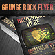 Grunge Rock Flyer - GraphicRiver Item for Sale