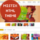 Mistix - Minimal Portfolio HTML / CSS Theme - ThemeForest Item for Sale