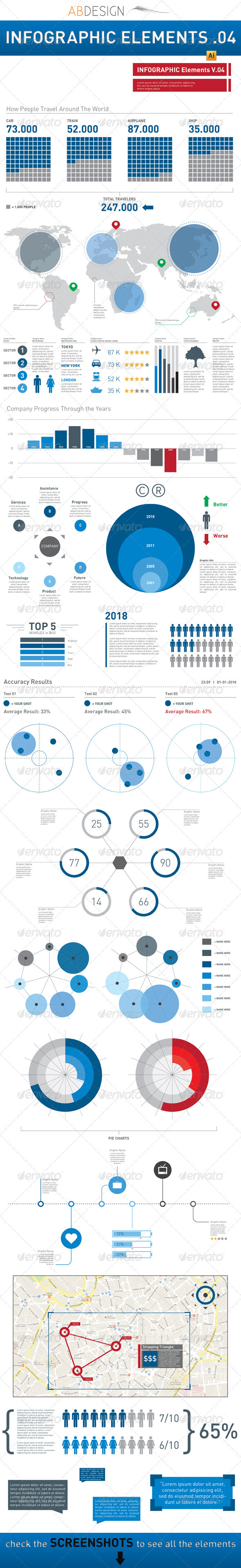GraphicRiver Infographic Elements Template Pack 04 2488027