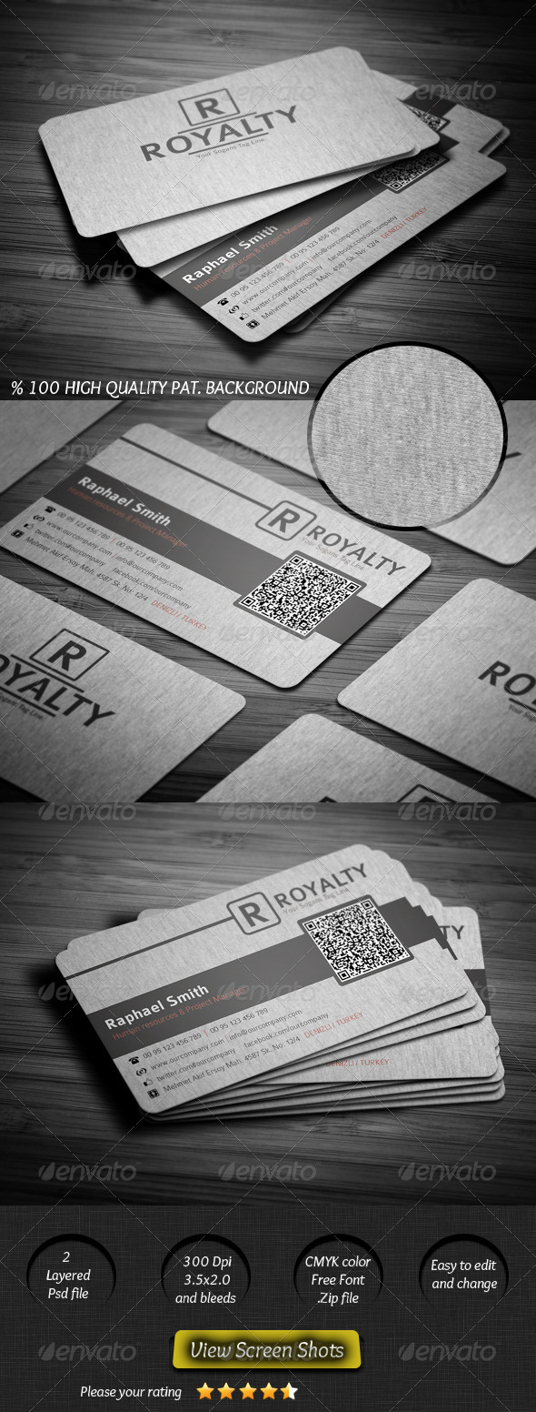 GraphicRiver Canvas Business Card 2488588