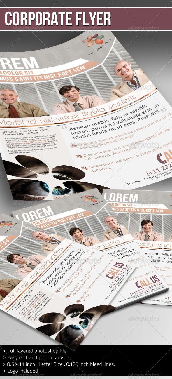 Corporate Flyer - (Company Info) - Corporate Flyers