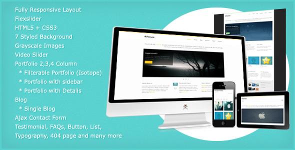 Kleenex - Fully Responsive HTML5 Template -