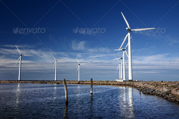 PhotoDune electricity wind mills 279129
