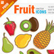 free logo template 16 Fruit icons