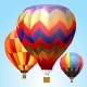 9 Vector Animation Hot Air Balloons - ActiveDen Item for Sale