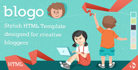 Blogo - HTML Template for Creative Bloggers