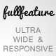 Fullfeature - Ultra Wide Responsive Theme