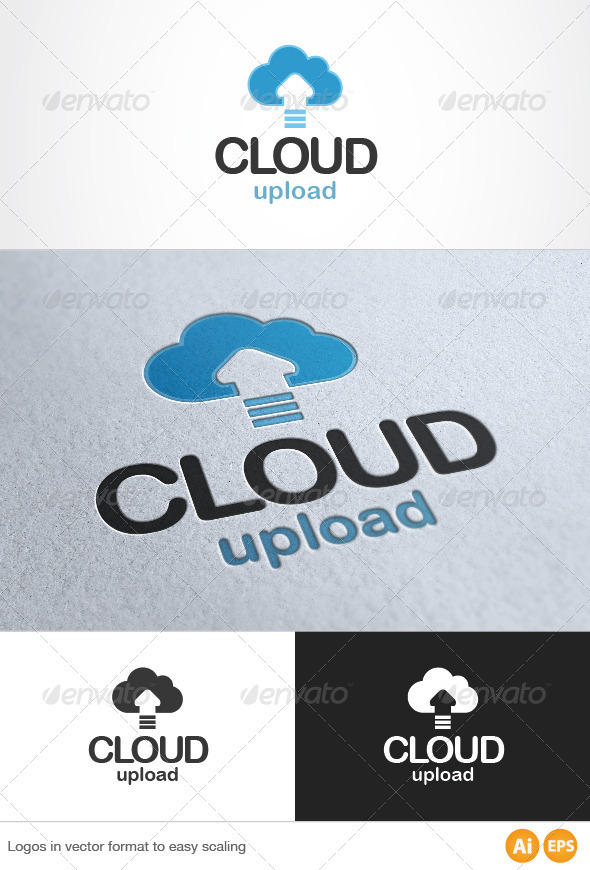 Cloud Logo - Symbols Logo Templates