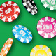 Poker Chip Scatter Brush & Ready-made Objects